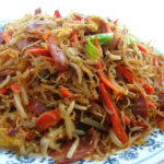 Lao Spicy Rice Vermicelli Salad
